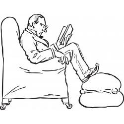 Il vecchio lettore