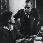 G. A. Borgese con la moglie Elisabeth Mann