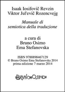 Recensione 6 - Manuale di semiotica della traduzione